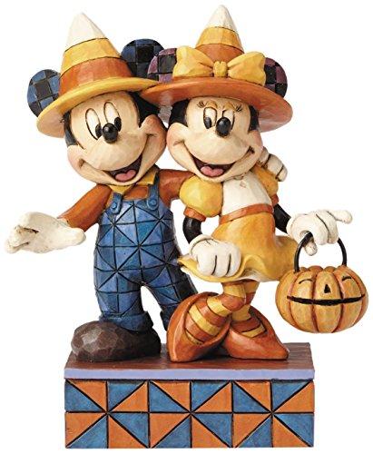 ディズニー・トラディションズ ミッキーマウス&ミニーマウス キャンディコーン スタチュー
