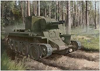 ドラゴン 1/72 第二次世界大戦 フィンランド軍 BT-42 突撃砲 プラモデル DR7565