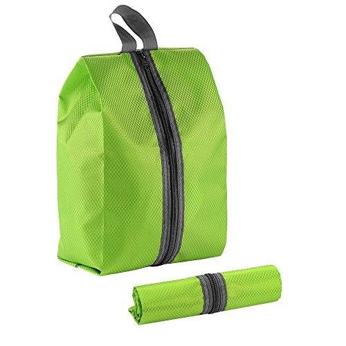 多機能シューズバッグ (緑)