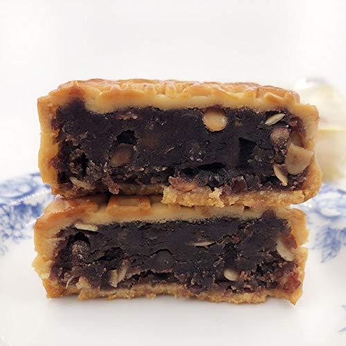 果仁豆沙月餅(スイカの種入中華あん) 広式月餅 中国産お菓子 中秋節ギフト 冷凍食品と同梱不可