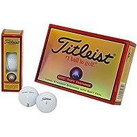 TITLEIST(タイトリスト) ゴルフボール HVC SOFT DISTANCE 2ピース 12個入り ホワイト 1HVSD-J