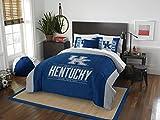 NCAAケンタッキーWildcatsモダンTake 2つシャムセット、ロイヤルブルー、フル/クイーンサイズ