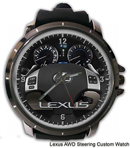 レクサススポーツセダン自動AWDステアリングカスタムスポーツ腕時計Sport Big Faceラバーバンド