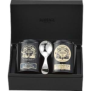 マリアージュ・フレール 紅茶の贈り物(マルコポーロ、セイロン ラトナピュラ、茶さじ)