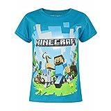 (マインクラフト) Minecraft オフィシャル商品 キッズ・子供用 半袖 キャラクター Tシャツ 夏 女の子