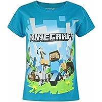 Minecraft Childrens/Girls Official Adventure Character T-Shirt