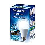 パナソニック LED電球 口金直径26mm 電球40W形相当 昼光色相当(4.2W) 一般電球・広配光タイプ 1個入り 密閉形器具対応 LDA4DGEW