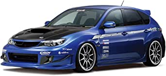 青島文化教材社 1/24 ザ・チューンドカーシリーズ No.35 スバル ings GRB インプレッサ WRX STI 2007 プラモデル