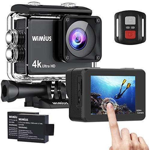【新型】 WIMIUS アクションカメラ 4K高画質 160...