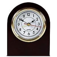 セイコー クロック,電波振り子時計,壁掛けアンティーク時計, ヴィンテージ 壁掛け時計,静かな動き,居間、書斎、寝室、廊下に適しています, 12.5Cm-10.4Cm