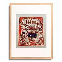 エルンスト・ルートヴィヒ・キルヒナー Ernst Ludwig Kirchner 「Peter Schlemihls wondrous stories」 額装アート作品