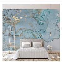 caomei 写真の壁紙3Dステレオブルーテクスチャ大理石の壁紙壁画リビングルームテレビソファベッドルーム研究の装飾@ 3カスタマイズ