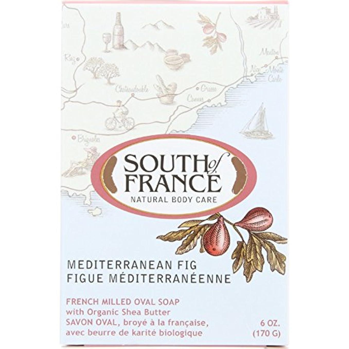 通り前者生まれSouth of France - フランスの製粉された野菜棒石鹸の内陸のイチジク - 6ポンド