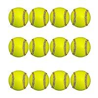 日本ボール (ニッポン)野球 硬式ボール 練習球 【国産】コードレ 全天候型ボール (蛍光色) (蛍光球72個入りカゴ付き)