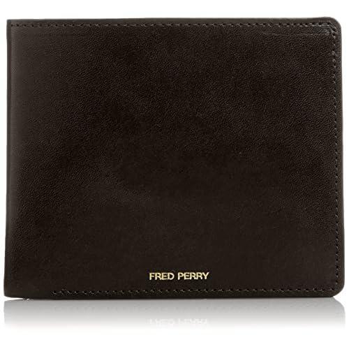 [フレッドペリー] FRED PERRY レザービルフォールド F19646 07 (07BLACK)