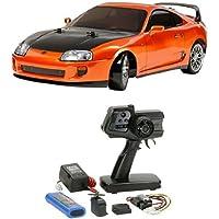 【セット商品】 タミヤ 1/10 電動RCカーシリーズ No.613 トヨタ スープラ  + ファインスペック 2.4G 電動RCドライブセット