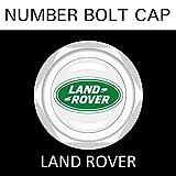 【LAND ROVER】【ナンバープレート用】ランドローバー ナンバーボルトキャップ NUMBER BOLT CAP 3個入りセット タイプ1 ブラガ - 2,500 円