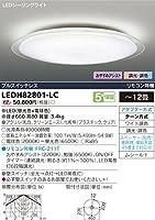 東芝ライテック シーリングライト ワイド調色 LEDH82801-LC