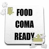 Tory Anneコレクション引用–Food Coma Ready–10x 10インチパズル( P。_ 243875_ 2)