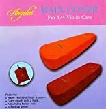 Angelus Rain Cover レインカバー 4/4バイオリン オブロング用 (オレンジ)