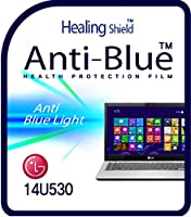 Healingshield スキンシール液晶保護フィルム Eye Protection Anti UV Blue Ray Film for Lg Laptop 14U530