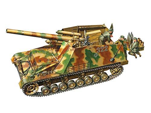 1/35 ミリタリーミニチュアシリーズ No.367 ドイツ重自走榴弾砲 フンメル 後期型 35367
