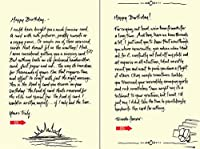 Quiplip Handwritten Yours Truly Birthday Cards 6-Pack (YT01106PCK) [並行輸入品]