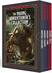 The Young Adventurer's Collection: Monsters and Creatures, Warriors and Weapons, Dungeons and Tombs, Wizards a