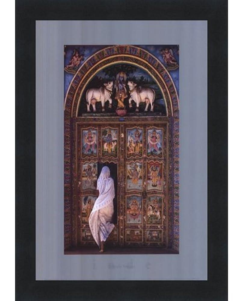 テンプルのドアby Christophe Boisvieux – 23.5 X 11.75インチ – アートプリントポスター LE_210603-F101-9.25x11.75