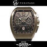 フランク・ミュラー ヴァンガード クロノグラフ V45CC DT TT BR NR ブラック メンズ 腕時計 [並行輸入品]