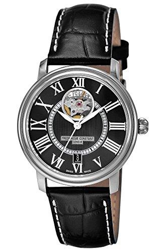 [フレデリック・コンスタント]FREDERIQUE CONSTANT 腕時計 クラシックハートビート ブラック文字盤 315BS3P6S メンズ 【並行輸入品】