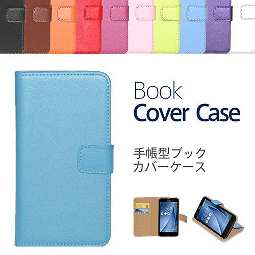 【ケートラ】 HUAWEI P10 lite ケース 手帳型 ブックカバーケース