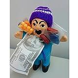 【エケコ人形】(ブルー)幸せを呼ぶ エケッコ人形(約15cm) 開運グッズ オリジナル 恋愛運 金運