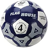 FlagHouse Hand – StitchedソフトタッチIntramuralサッカーボール – サイズ4