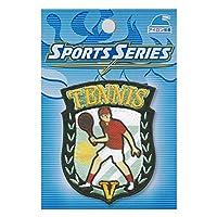 スポーツワッペンシリーズ「テニス」