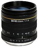 Opteka 85mm f / 1.8Aspherical望遠ポートレートレンズfor Nikon d5, d4s , d4, d3X , DF , d810, d800, d750, d610、d500、d7..