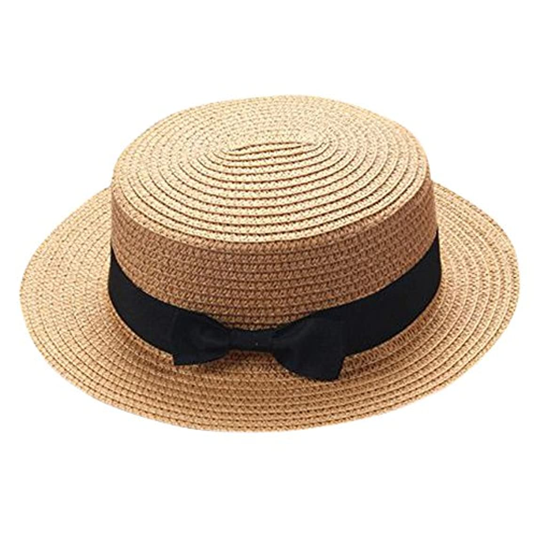 リングバック前述のスライスキャップ キッズ 日よけ 帽子 小顔効果抜群 旅行用 日よけ 夏 ビーチ 海辺 かわいい リゾート 紫外線対策 男女兼用 日焼け防止 熱中症予防 取り外すあご紐 つば広 おしゃれ 可愛い 夏 ROSE ROMAN