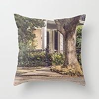 クッションカバー クッションカバー まっ四角枕カバー 飾りで柔らかい NOLA 1枚セット 45×45cm