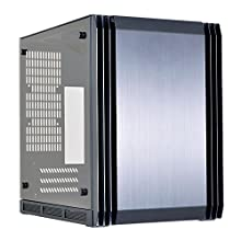 Lian Li Mini-ITX対応PCケース チャンバー構造 強化ガラス採用 ブラック PC-Q39GWX 日本正規代理店品