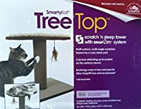 SmartyKat Scratch N Sleep Tower with Snap2it System [並行輸入品]