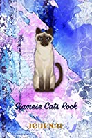 Siamese Cats Rock: Pocket Gift Notebook for Cat and Kitty Lovers