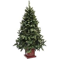 クリスマスツリー ウッドベースツリー ポット 組み立て式 180cm