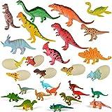 子供のための教育用プラスチック盛り合わせの恐竜のおもちゃフィギュア - 28パック、#19