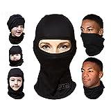 ARC'TERYX 2パックMultipurposeユニセックスバラクラバFull Faceスキーマスク、ブラック、フリーサイズ