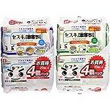 【セット買い】レック セスキ の 激落ちくんフローリング 用 (4個パック)&キッチン用 (4個パック)