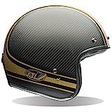 BELL ベル 2016年 Custom 500 Carbon カスタム500 カーボン ヘルメット RSD Bomb ローランドサンズデザイン ボム マットブラックグロスゴールド/XXL [並行輸入品]