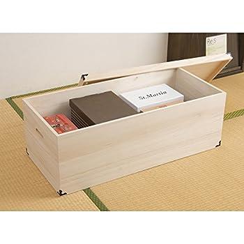 桐衣装箱 1段 深型hi-0005