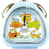 ティーズファクトリー 置き時計 パンきょうしつ H13.5×W13×D5cm すみっコぐらし おむすびクロック SG-5520223PK
