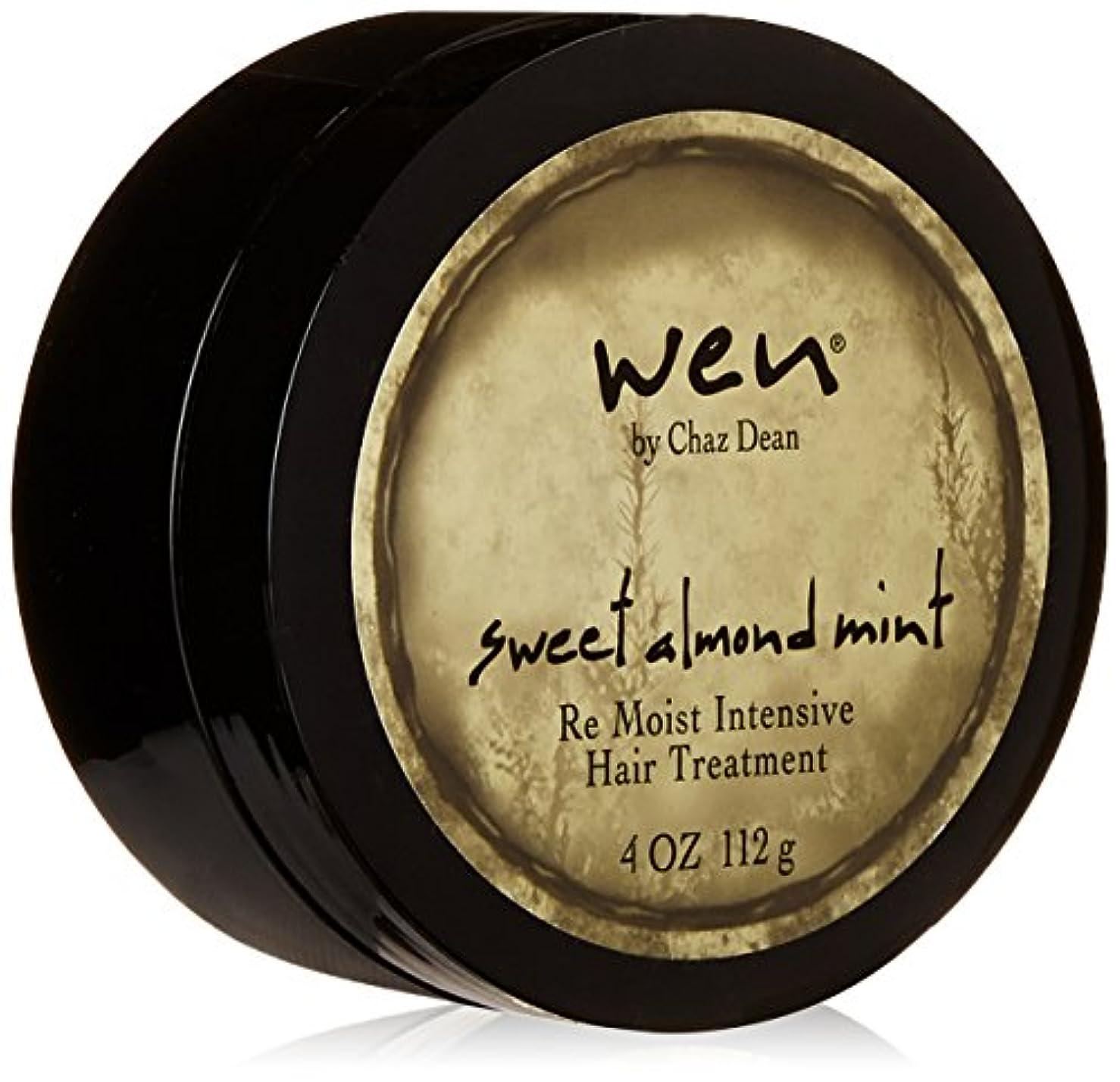 事メロドラマティックモナリザWen Sweet Almond Mint Re Moist Intensive Hair Treatment