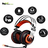 Mugen Power - Sades A7 7.1 Surround sound Stereo Gaming Headset with USB LED Mic and Vibration effect for PC Games